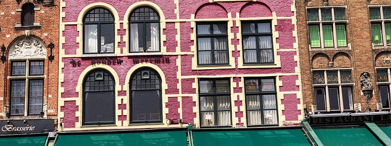 Fassaden reinigen und imprägnieren